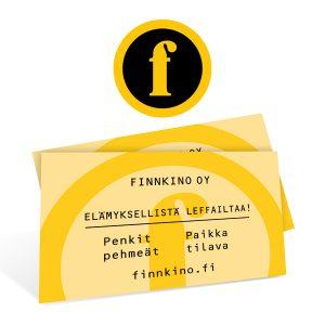 Kaksi Finnkinon leffalippua 29 €