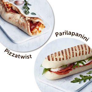Ärrän omat Pizzatwist ja Parilapanini