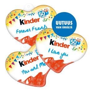 Uusi Kinder & Love BDay 2 kpl 3,50 €