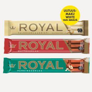 Royal White vain Ärrältä!