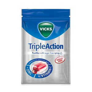 VICKS Triple Action Sinkki+C-vitamiini 2,50 €