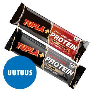 Tupla+ -Protein -patukat 2 kpl 4 €