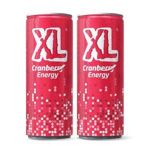 Uusi XL energiajuoma Karpalo 0,25 l 2 kpl 2,50 €