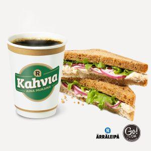 Ärräleipä ja kahvi 5,50 €