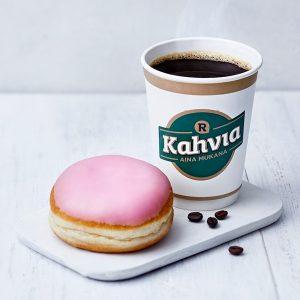 Kahvi & munkki 3 €
