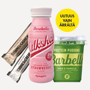 Barebells-proteiinivälipalat Ärrältä!