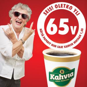Eläkeläiskahvi 1,50 €