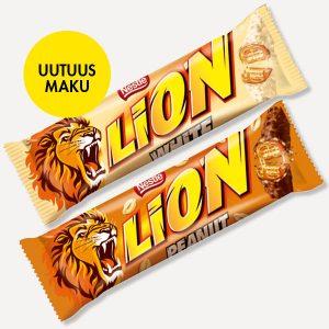 Lion-patukat 2 kpl 1,50 €