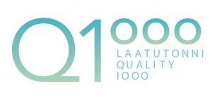 Laatutonni organisaation logo. Hostel Suomenlinna on laatutonni-verkoston jäsen.