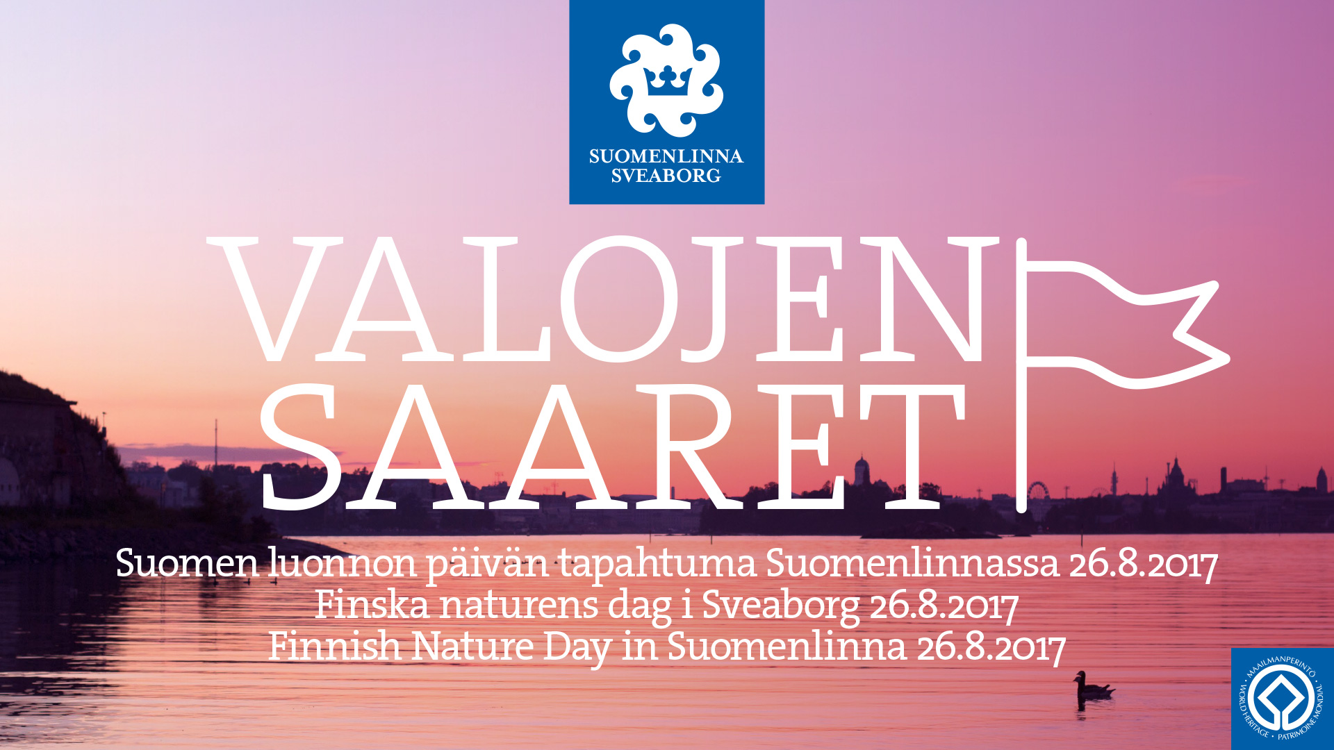 Islands Of Lights Celebration On The Finnish Nature Day