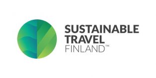 Sustainable Travel Finlandin logo.