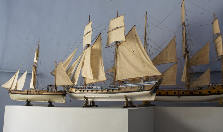 Laivoja Ehrensvärd-museossa.