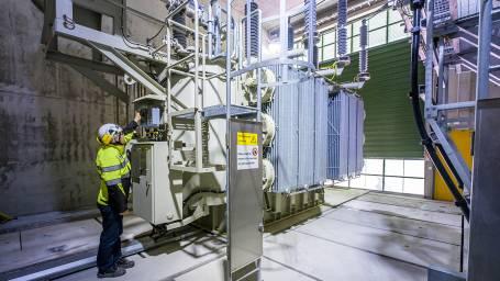 Sähköasemien uudistustyöt etenevät