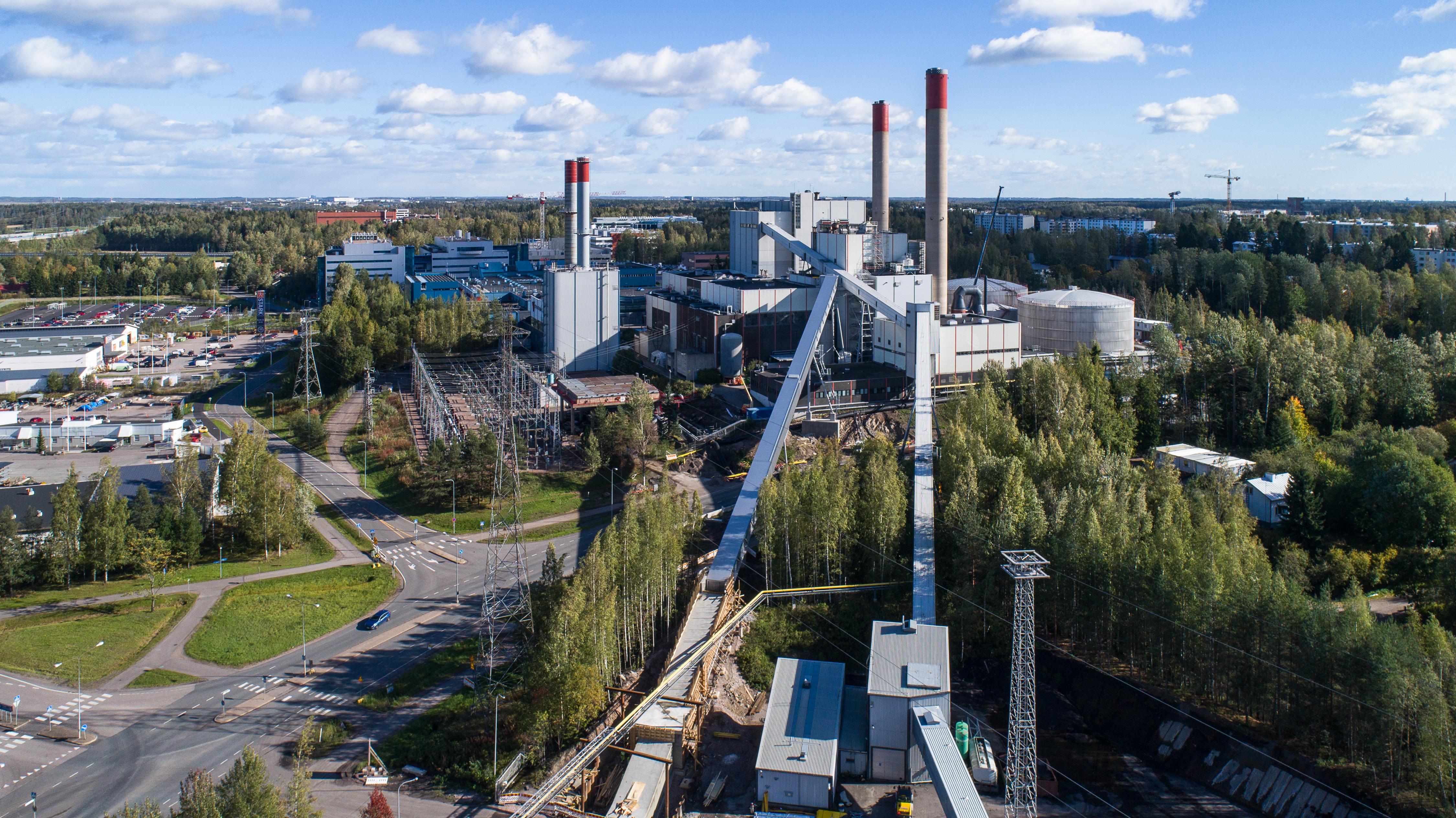 Martinlaakson Biokattila On Kaynnissa Vantaan Energia Sahkoverkot