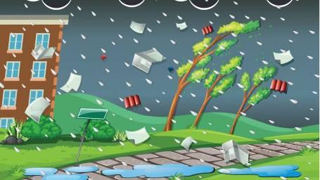 Nostamme sähköverkon viankorjausvalmiutta lähestyvän myrskyn vuoksi