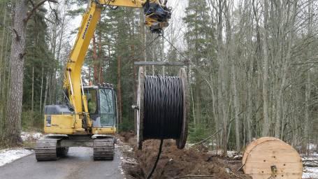 Luoteis-Vantaan maakaapelointihanke etenee aikataulun mukaisesti