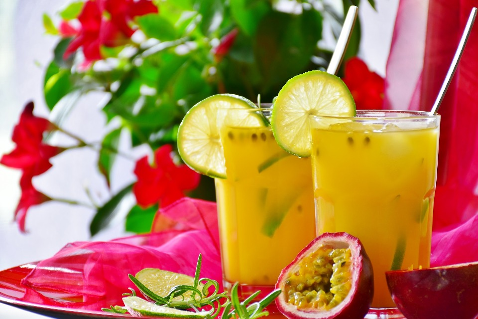 Succo di passion fruit