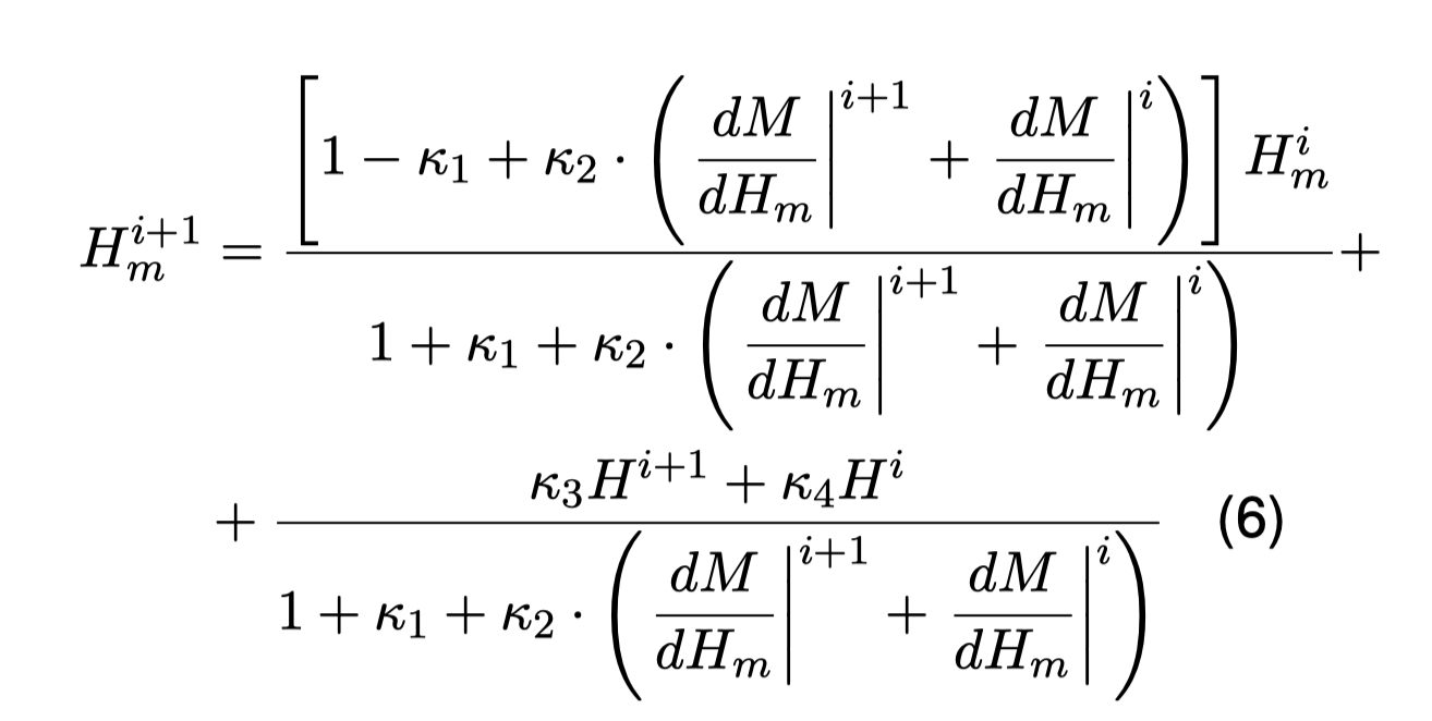 Rate-dependent Hysteresis Model