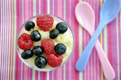 Milchreis mit Obst
