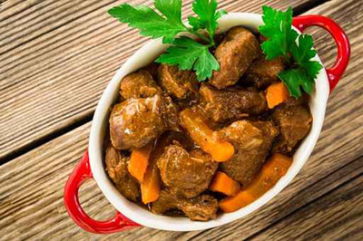 Kalbsragout mit Karotten
