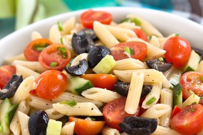 Mediterraner Pasta-Salat