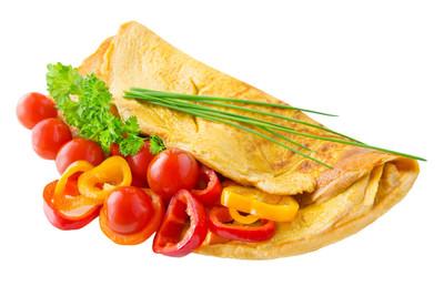 Pfannkuchen mit Gemüse (vgn)
