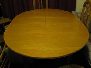 DINING TABLE And 4 High Back Chairs In Norwich