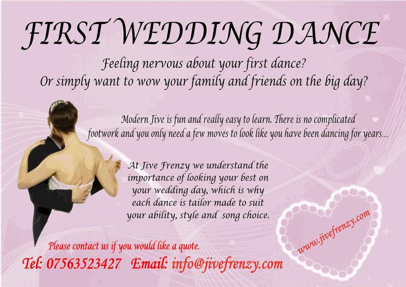 First Wedding Dance Bexhill On Sea Expired Friday Ad