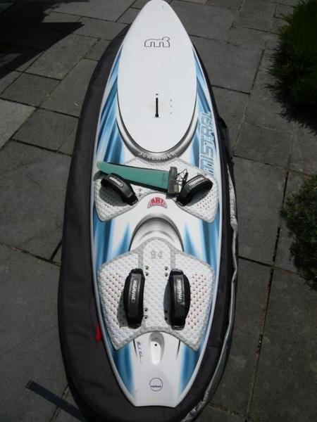 Mistral Screamer 94ltr windsurf board in Arundel - Expired