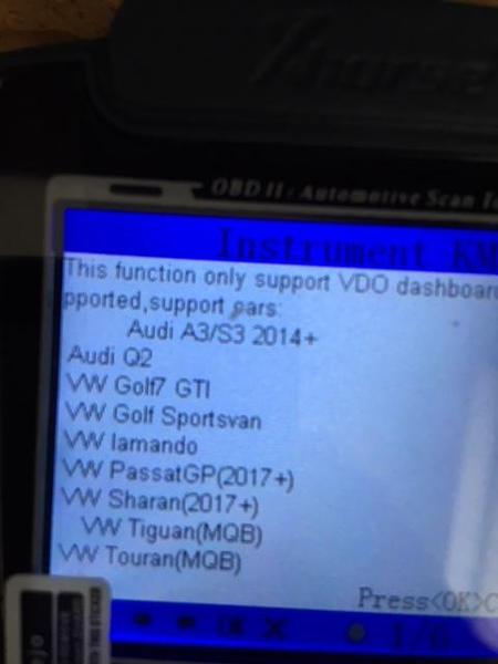 VAG PROGRAMMER PINCODE, IMMO BYPASS, MILEAGE CORRECTION VW