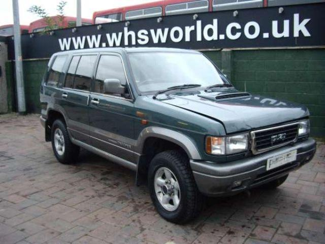 isuzu trooper 1997 in sheffield | friday-ad