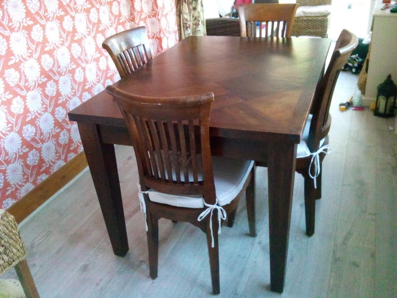 Indonesian Teak Dining Table In Redhill Expired FridayAd - Indonesian teak dining table