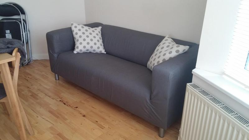 2 Seater Ikea Klippan 2 Seater Sofa In Grey  Fantastic Condition In  Birmingham   Expired | Friday Ad