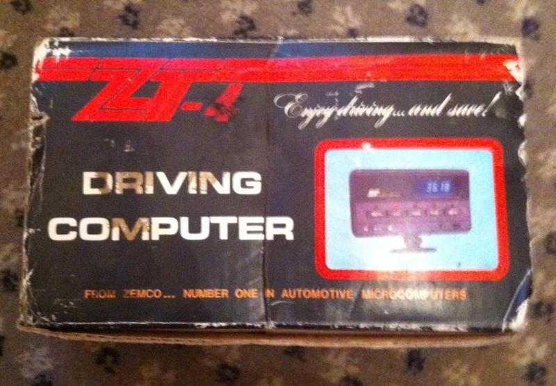 ZEMCO ZT-4 DRIVING COMPUTER ENGINE FUEL