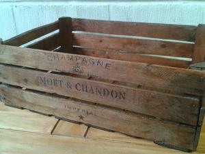 Extra Large Vintage Style Wooden Crate Box