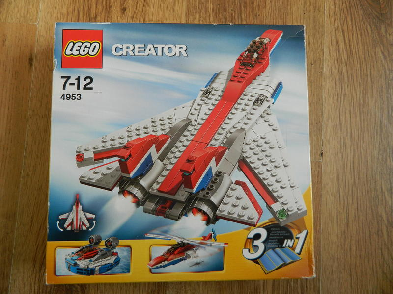 Lego creator 3 in 1 4953 swing wing jet plane in Lewes | Friday-Ad