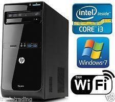 HP Pro 3500 Series MT Intel i3 4GB Ram 320GB HDD Win 7 Pro