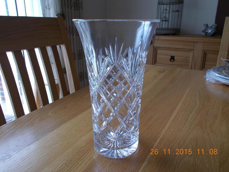 Royal Doulton Royal Albert Crystal Vase In Market Rasen Expired