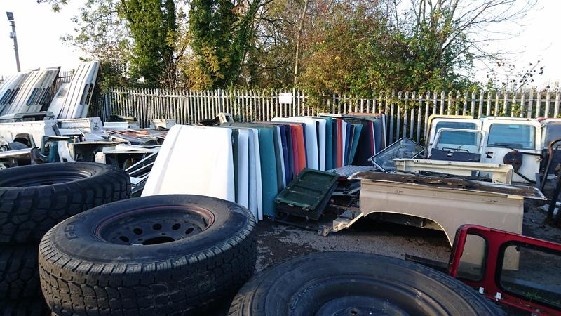 al land rover business used car range spare ccs taj parts scrapyard landrover fakhama listing