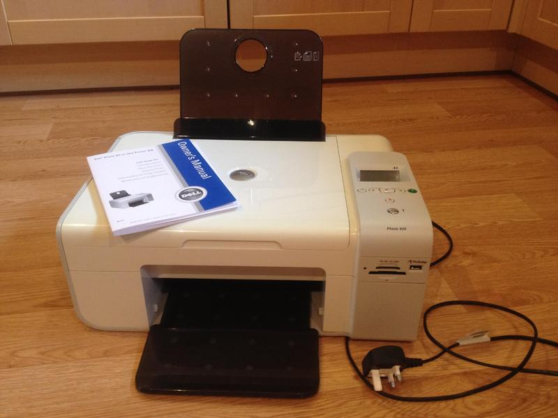 dell printer 926 photo all in one printer coper scanner and fax rh friday ad co uk Dell 926 Cord Dell Printer Drivers