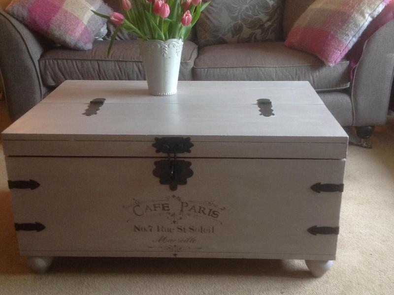on sale 82d85 cd232 Blanket Box/Coffee Table with storage in Edenbridge ...