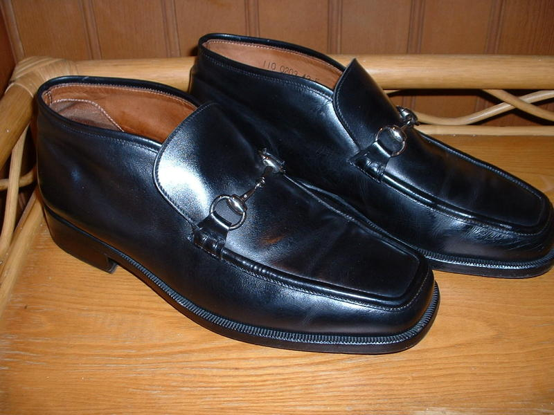 8ec2ef9d682b GUCCI MEN S SHOES BLACK LEATHER HORSEBIT LOAFERS BOOTS UK 9 in Sevenoaks -  Expired