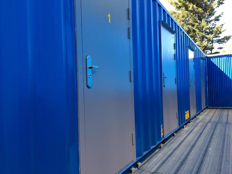 STORAGE SPACE FOR RENT Secure shipping containers 20ft units and