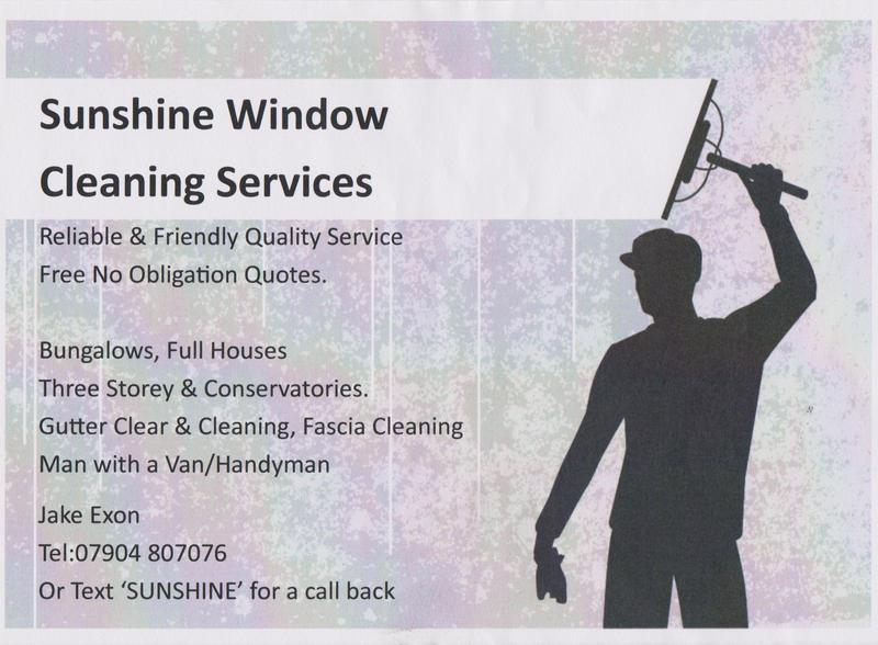 sunshine window cleaning gutter clearing local window cleaner eastbourne expired friday ad
