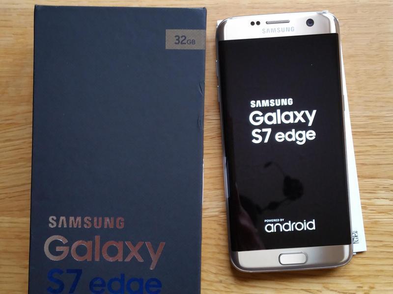 Samsung Galaxy S7 Edge Gold Platinum 32gb Platinum Gold