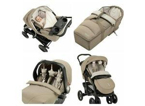 Graco Quattro Tour Deluxe Bear Friends Travel System Comes With