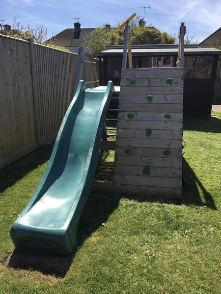 Plum Pyramid Wooden Climbing Frame in Worthing - Expired | Friday-Ad