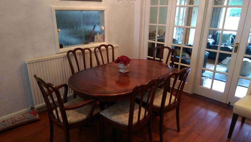 Stag Meredew Extending Polished Wood Table In Kettering