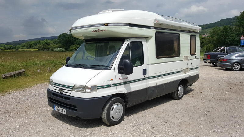 2001 Peugeot Boxer 1 9td Autosleeper Executive 4 Berth
