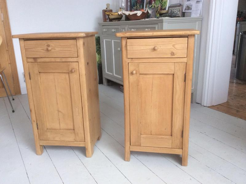 Pair of Dutch 19th century pine bedside tables in Mayfield - Expired    Friday-Ad - Pair Of Dutch 19th Century Pine Bedside Tables In Mayfield - Expired